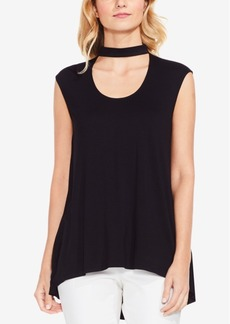 Vince Camuto High-Low Choker Top