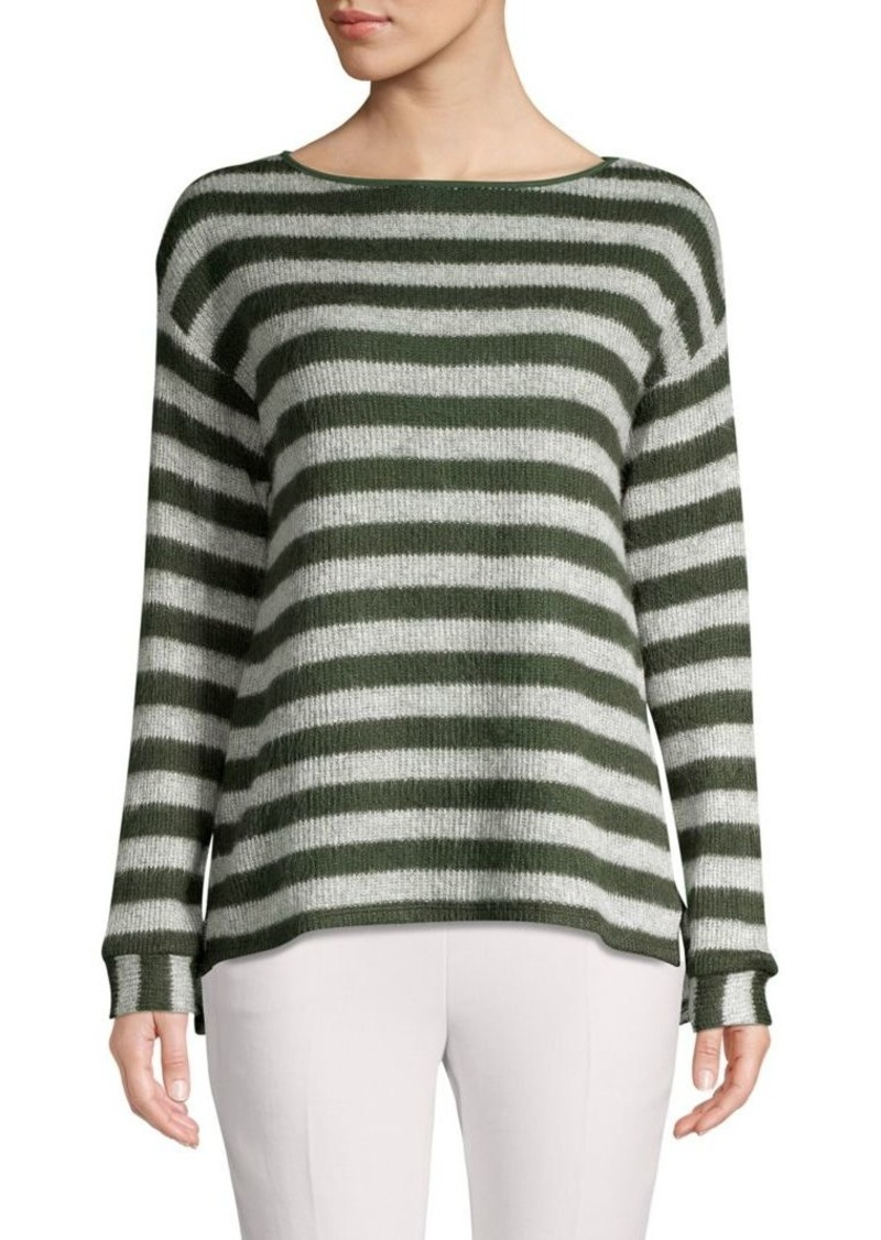 Vince Camuto High-Low Striped Sweater