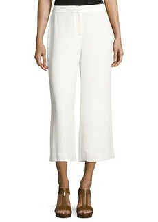 Vince Camuto High-Waist Front-Zip Culottes