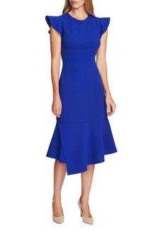 Vince Camuto Highland Asymmetrical Peplum Dress
