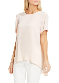 Vince Camuto High/Low Blouse (Regular & Petite)