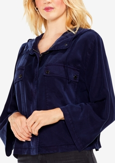 Vince Camuto Hooded Bell-Sleeve Jacket