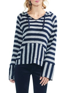 Vince Camuto Hooded Stripe Sweater
