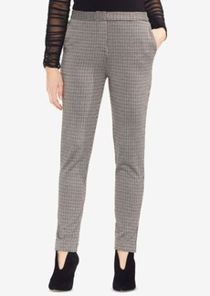 Vince Camuto Houndstooth-Print Pants