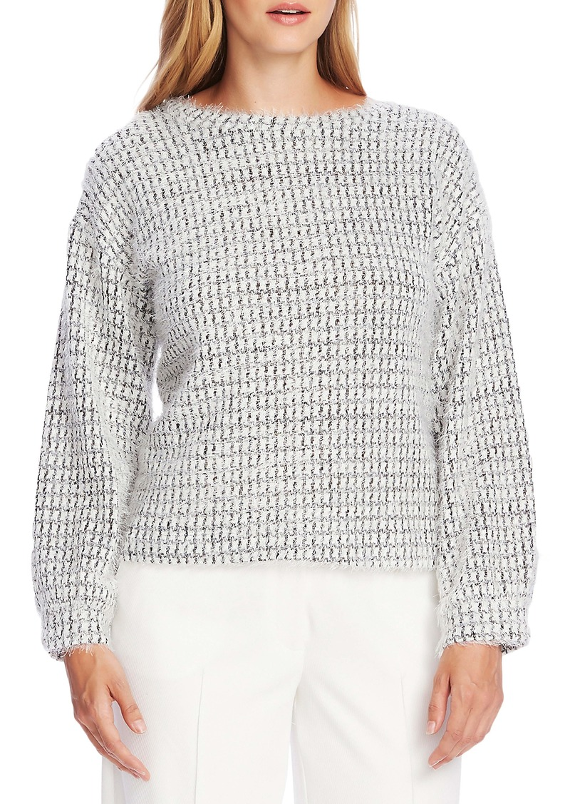 Vince Camuto Houndstooth Sweater