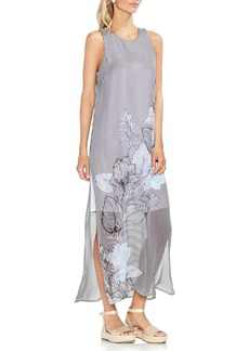 Vince Camuto Island Floral Chiffon Maxi Dress