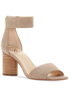 Vince Camuto Jacon Two-Piece Cylinder-Heel City Sandals Women's Shoes