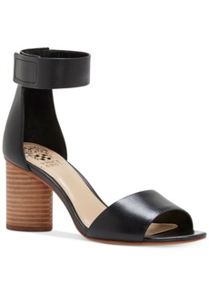 Vince Camuto Jacon Two-Piece Cylinder-Heel Sandals Women's Shoes