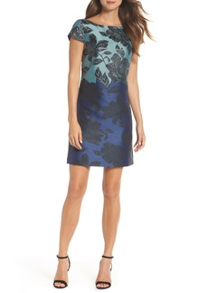 Vince Camuto Jacquard Sheath Dress