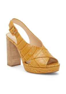 Vince Camuto Javasan Slingback Platform Sandal (Women)