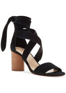 Vince Camuto Jeneve Strappy Block-Heel Sandals Women's Shoes