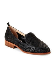 Vince Camuto Kade Leather Perforated Flats
