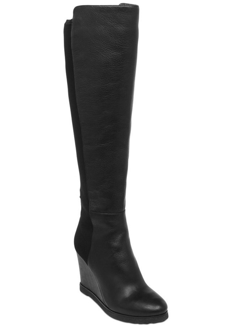vince camuto vince camuto kaelen wedge boots shoes