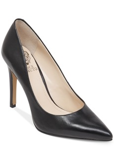 Vince Camuto Kain Pointed Toe Mid Heel Pumps Women's Shoes