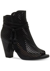 Vince Camuto Kamey Perforated Booties Women's Shoes