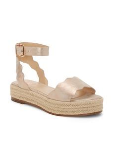 Vince Camuto Kamperla Ankle Strap Espadrille Sandal (Women)