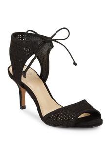 Vince Camuto Kanara Lasercut Leather Heels