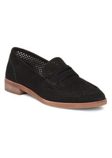 Vince Camuto Kanta Perforated Loafers