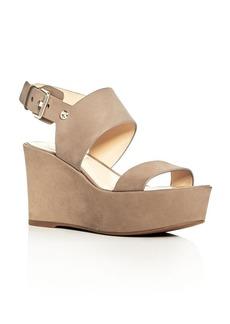 VINCE CAMUTO Karlan Platform Wedge Slingback Sandals