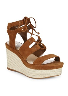 Vince Camuto Katila Suede Espadrille Wedges