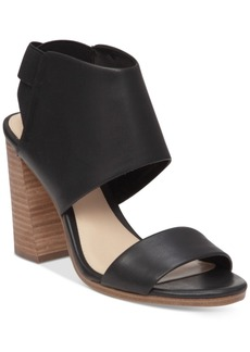 Vince Camuto Keisha Strappy Block-Heel Sandals Women's Shoes