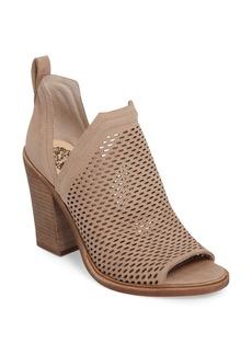 Vince Camuto Kensa Peep Toe Bootie (Women) (Nordstrom Exclusive)