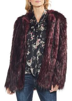 Vince Camuto Kiss Front Faux Fur Jacket