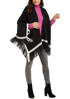 Vince Camuto Knit Topper With Pop Stripe