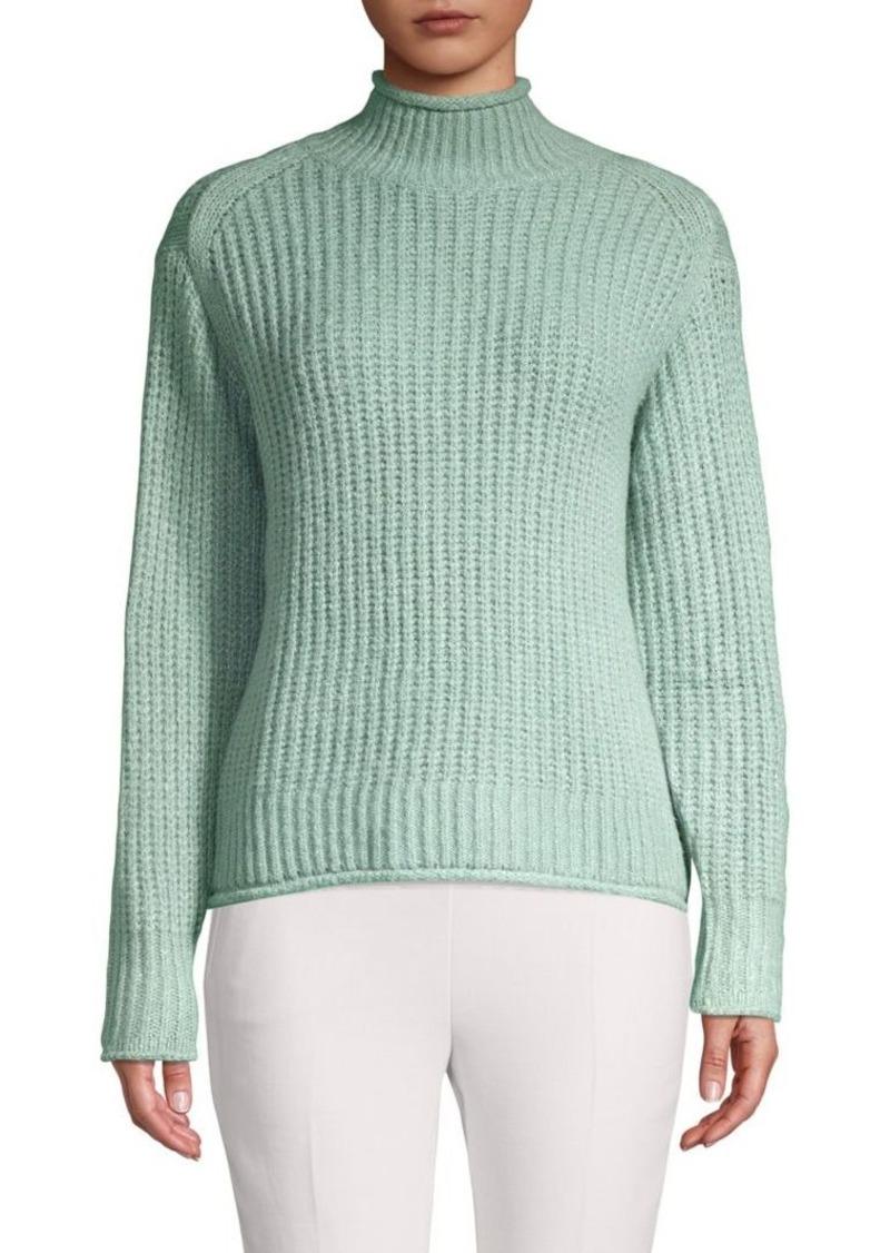 Vince Camuto Knitted Mockneck Sweater