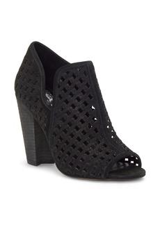 Vince Camuto Korlettan Perforated Peep Toe Bootie (Women)