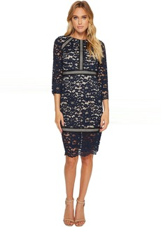Vince Camuto Lace 3/4 Sleeve Bodycon Dress