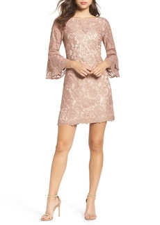 Vince Camuto Lace Bell Sleeve Dress (Regular & Petite)
