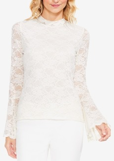 Vince Camuto Lace Bell-Sleeve Top