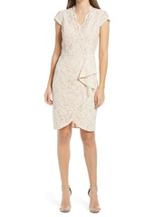 Vince Camuto Lace Body-Con Cocktail Dress
