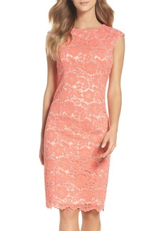 Vince Camuto Lace Body-Con Dress