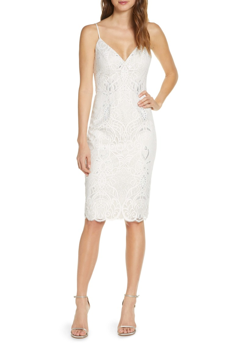 Vince Camuto Lace Cocktail Dress