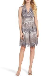 Vince Camuto Lace Fit & Flare Dress (Regular & Petite)