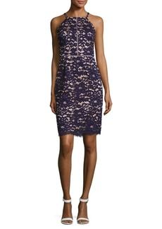 Vince Camuto Lace Halter Dress