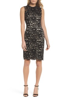 Vince Camuto Lace Sheath Dress