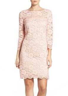 Vince Camuto Lace Sheath Dress (Regular & Petite)