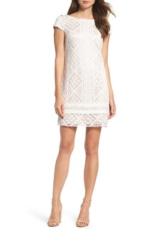 Vince Camuto Lace Shift Dress (Regular & Petite)