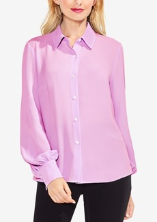 Vince Camuto Lace-Up-Back Blouse