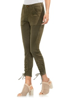 Vince Camuto Lace-Up Cuff D-Luxe Pants