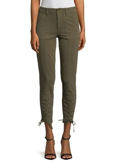Vince Camuto Lace Up Cuff D-Luxe Pants
