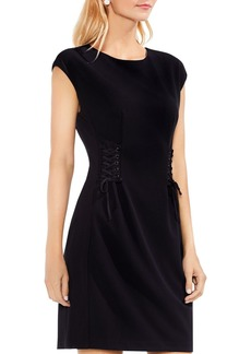 VINCE CAMUTO Lace-Up Dress