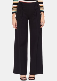 Vince Camuto Lace-Up Wide-Leg Pants