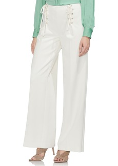 Vince Camuto Lace-Up Wide Leg Trousers