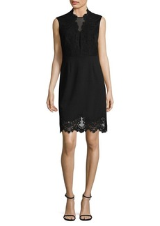 Vince Camuto Laced Sheath Dress