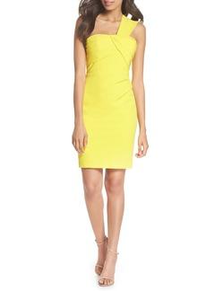 Vince Camuto Laguna One-Shoulder Scuba Dress
