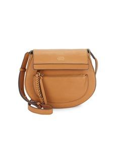 Vince Camuto Leather Crossbody Saddle Bag